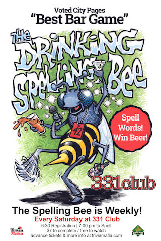 Drinking-Spelling-Bee