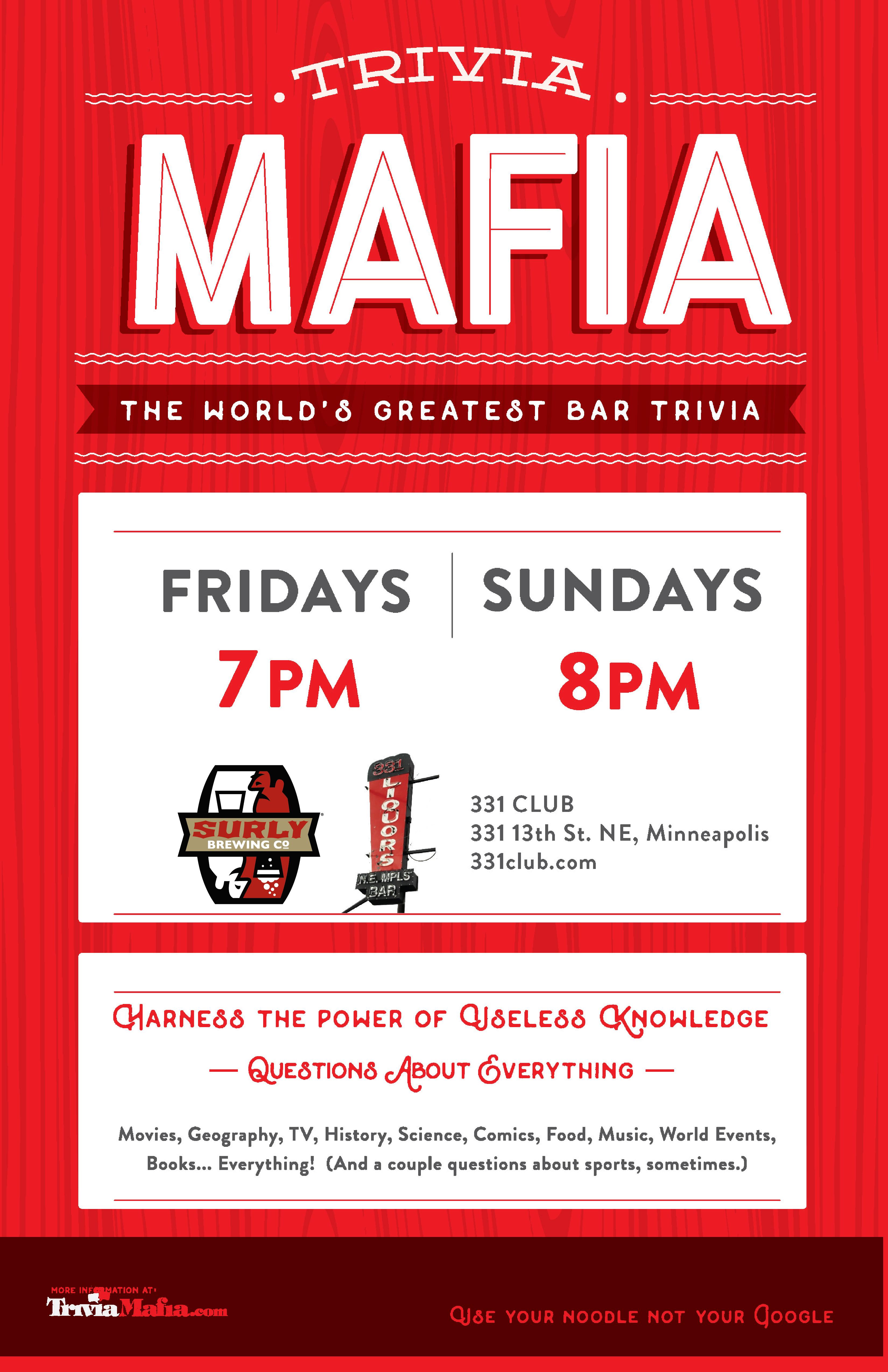 trivia-mafia-at-331-poster