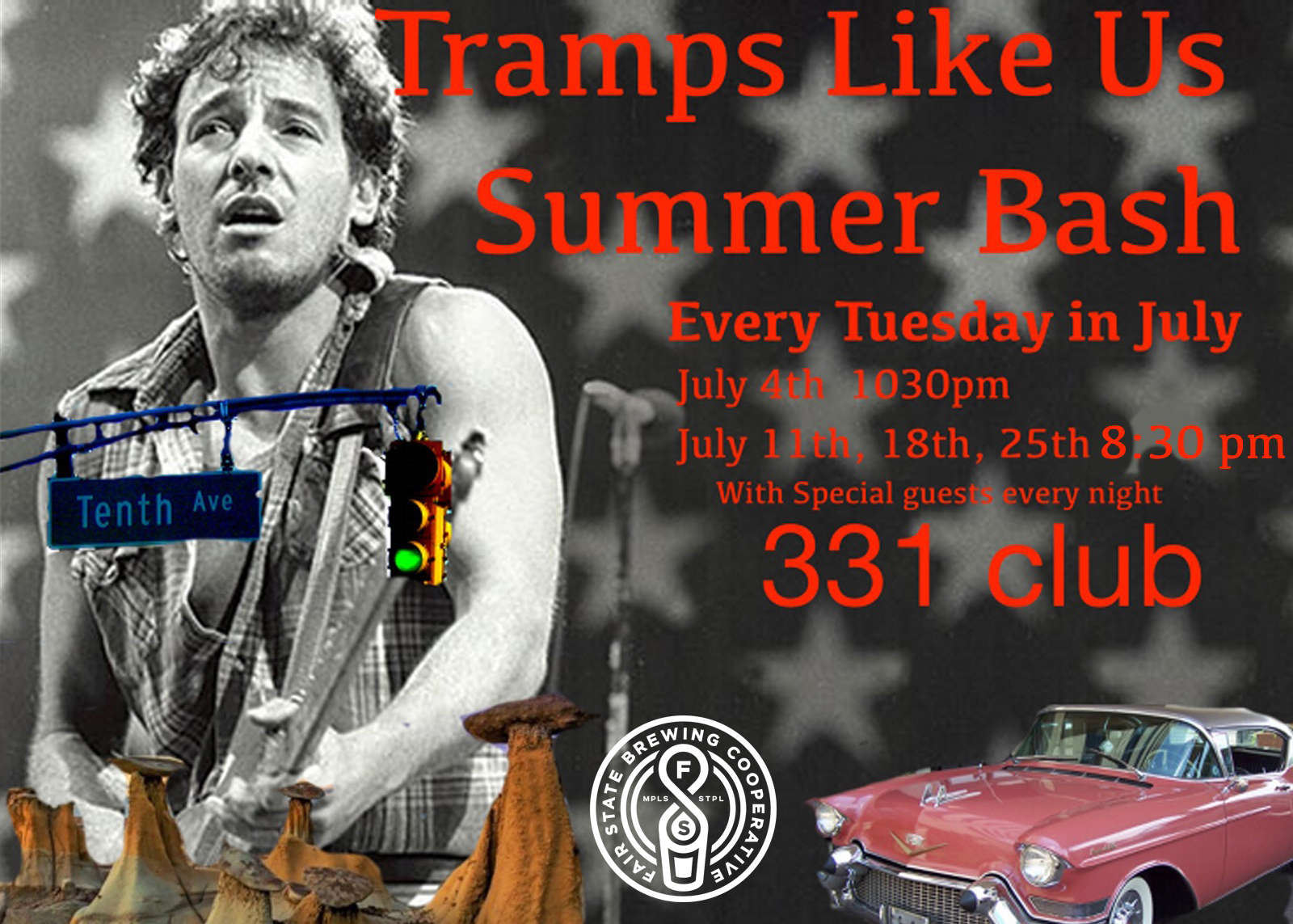 Tramps 4th of July#2 LOGO